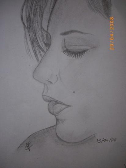 Victoria Beckham par Billart